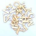 26 шт. (1 комплект) 30x33 мм буквы/алфавит натуральное дерево Скрапбукинг карфт ручной работы аксессуары для дома MT1650