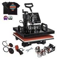 8 in 1 Dijital Transfer Süblimasyon Isı Basın Makinesi T Shirt Kupa Şapka kap|Kişisel Bakım Aletleri Parçaları|   -