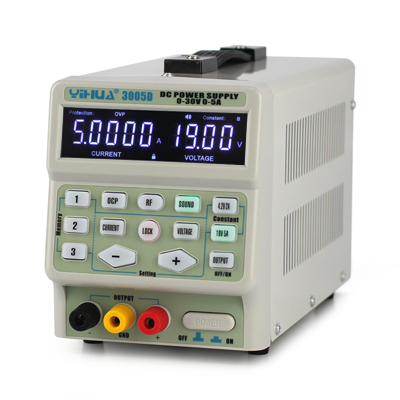 220V/110V YIHUA3005D Mini Switching Regulated Adjustable DC Power Supply 30V5A adjustable digital Dc regulated power