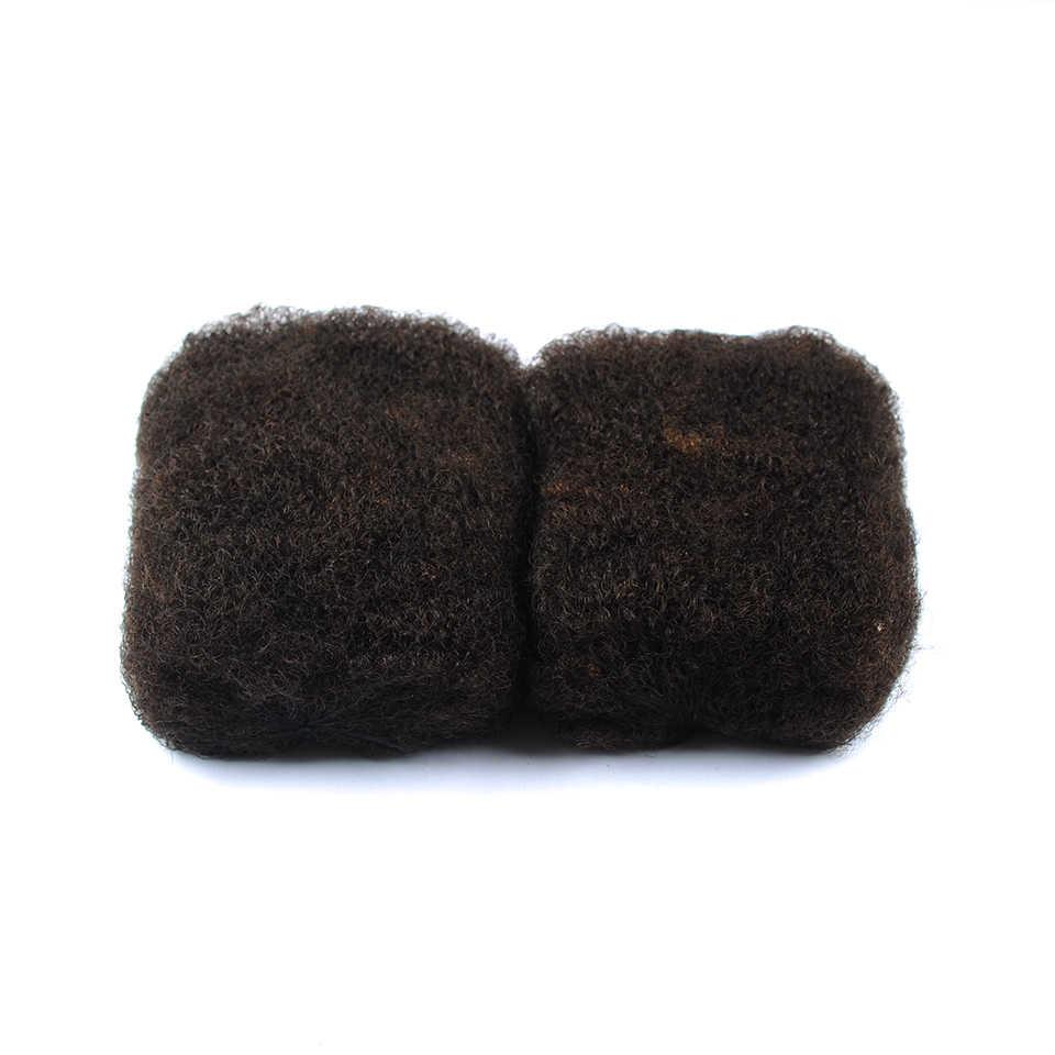 IEnvy темно-коричневые бразильские волосы плетение афро кудрявые объемные человеческие волосы для плетения без уток для вязания крючком оплетка Nonremy расширение