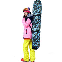 152cm Ski Bags Adult Snowboard Backpack Convenient To Carry Travel Ski Bags Waterproof Windproof Snowboard Bags