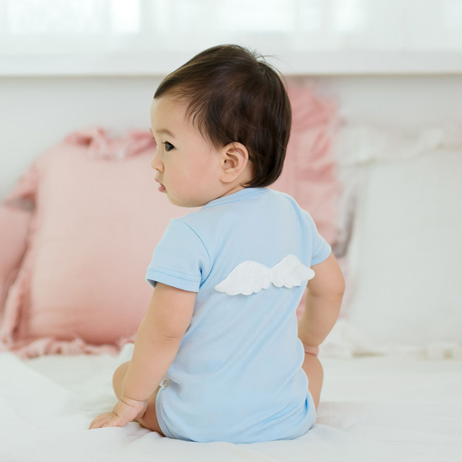 Pasgeboren mooie baby kleine engelenvleugels ontwerp Baby jongens - Babykleding - Foto 2