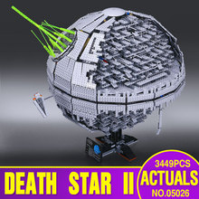 NEW LEPIN 05026 Star Wars Death Star The second generation 3449pcs Building Block Bricks Toys Compatible with  10143 Gifts