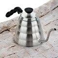 1200 мл 304 нержавеющая сталь V60 залить капельным Кофе чайник гусиная шея чайник с длинным носиком рот кофе Перколятор