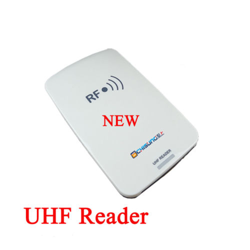 Portable integrated UHF RFID device used to identify tags and write data into tags in short distancePortable integrated UHF RFID device used to identify tags and write data into tags in short distance