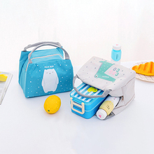 New 2019 Cartoon Lunch Box Bag for Kids Women Thermal Insulated Cooler Fruit Food Container Picnic Supplies Pouch School Storage