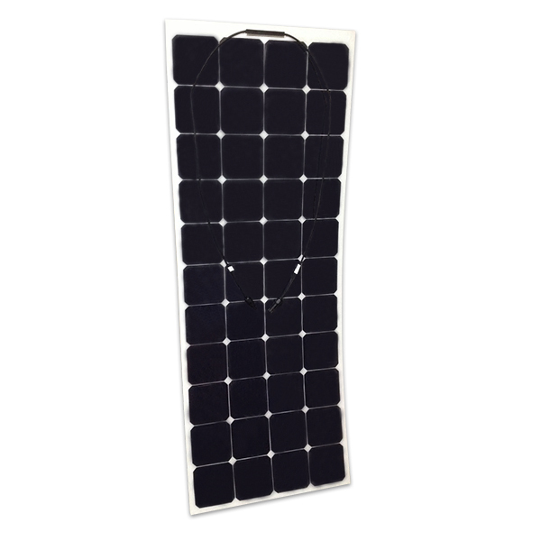 130w semi flexible solar panel for boat , bendable solar panel used on car,caravan,yacht