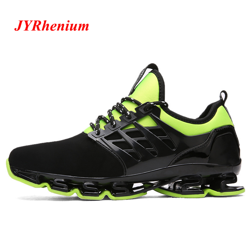 JYRhenium Big Size 35-48 Professional Men Running Shoes Breathable Hommes Sport Chaussures De Course Outdoor