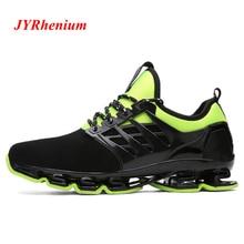 JYRhenium Big Size 35-48 Professional Men Running Shoes Breathable Hommes Sport Chaussures De Course Outdoor