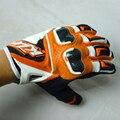 Бесплатная доставка Горячей продаж Новые модели KTM перчатки перчатки мотоцикла Внедорожники перчатки Гонки кожаные перчатки