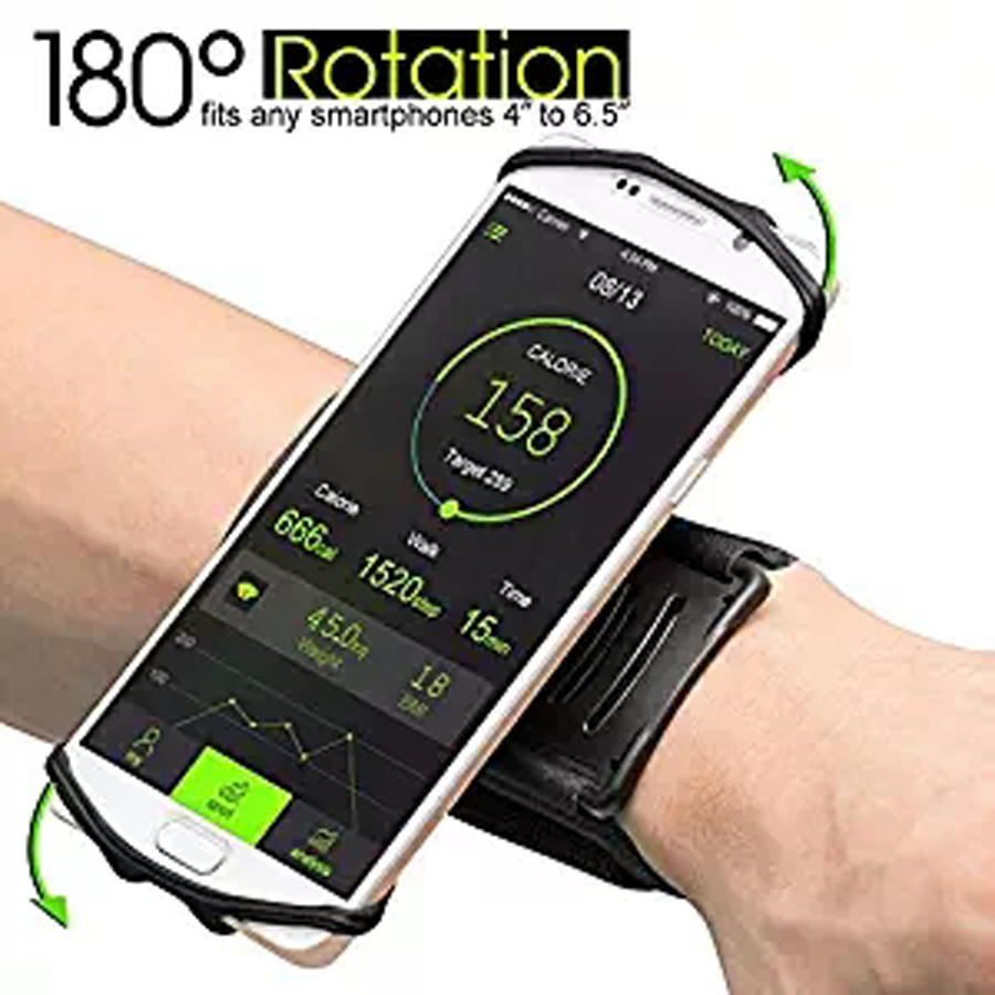 4-6.2 In Running Phone Bag Holder Run Pouch Mobile Smartphone Wrist Arm Band Sport Fitness Belt Trail Running Fanny Pack Bags