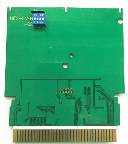 NWC 1990 Gold Edition Reproductie 72 Pins Game Cartridge Voor NES Console