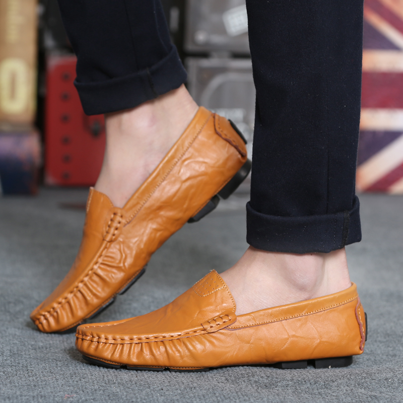 bleu Véritable Cuir on marron Marque Noir Northmarch Mocassins En Conduite Zapatos Chaussures Confortable Appartements Hommes Mode De Slip Doux RqdAw