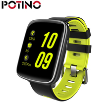 POTINO GV68 Smart Watch Waterproof Ip68 Heart Rate Monitor Bluetooth Smartwatch Swimming with Replaceable Straps for IOS Android