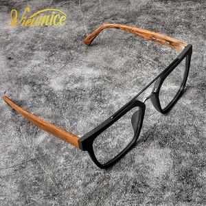 Image 3 - Instagram ผู้หญิง Hot VINTAGE กรอบแว่นตาผู้ชายใหม่สแควร์ Acetate แว่นตาขนาดใหญ่แว่นตาสายตาสั้น Blue Light แว่นตาล้างเลนส์