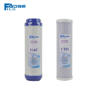 2 PACK Activated Carbon Filter 10 CTO GAC Filter