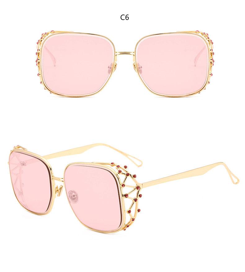 HTB1ePK8oYsTMeJjy1zbq6AhlVXab - Steampunk Square Luxury Designer Rhinestone Sunglasses