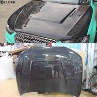 A4 B9 RS4 HS style Carbon Fiber FRP Front Hood Bonnets Covers for Audi A4 B9 HS style 13 16