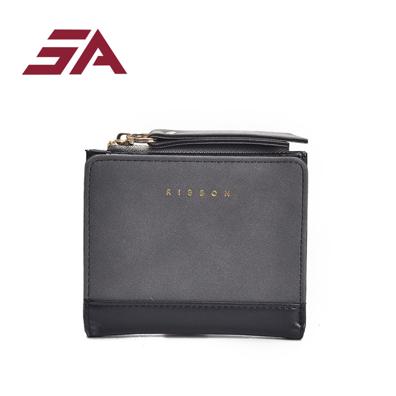 SA Korean Cute PU Leather Slim Mini Wallet Women Small Clutch Female Purse Coin Card Holder Dollar Bag Cuzdan
