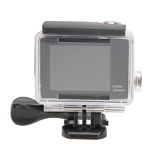 ALLOYSEED Sports Action Camera Kit WiFi 12M 2-inch High-Definition Screen 170 Degree wih 6 Glass Wide-angle Fish Eye Lens