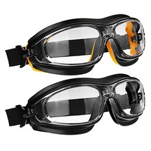 NEW Dust Wind Sandproof Shock Resistant Chemical Acid Spray Paint Splash Wear Eye Protection Workplace Safety Goggle