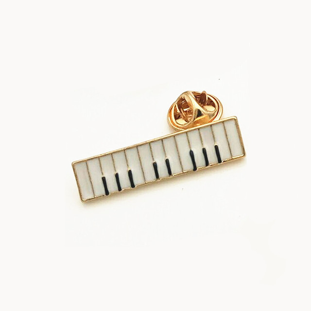 Kshmir Classic Popular Piano Series Bass Guitar Music Notation Medal Of Brooch Brooches Women Act The Role Ofing Is Tasted by Kshmir