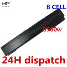 HSW 8cell New Laptop Battery for HP EliteBook 8560w 8570w 8760w 8770w HSTNN-I93C HSTNN-IB2P HSTNN-LB2P VH08 632113-141(China)