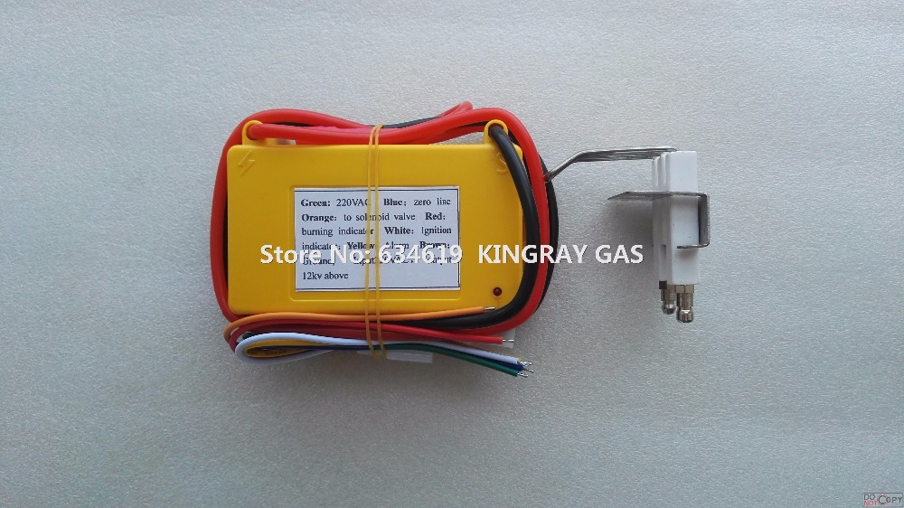 220VAC with spark plug gas grill ignition controller hot sale gas oven ignitor electric gas burner lighting controller