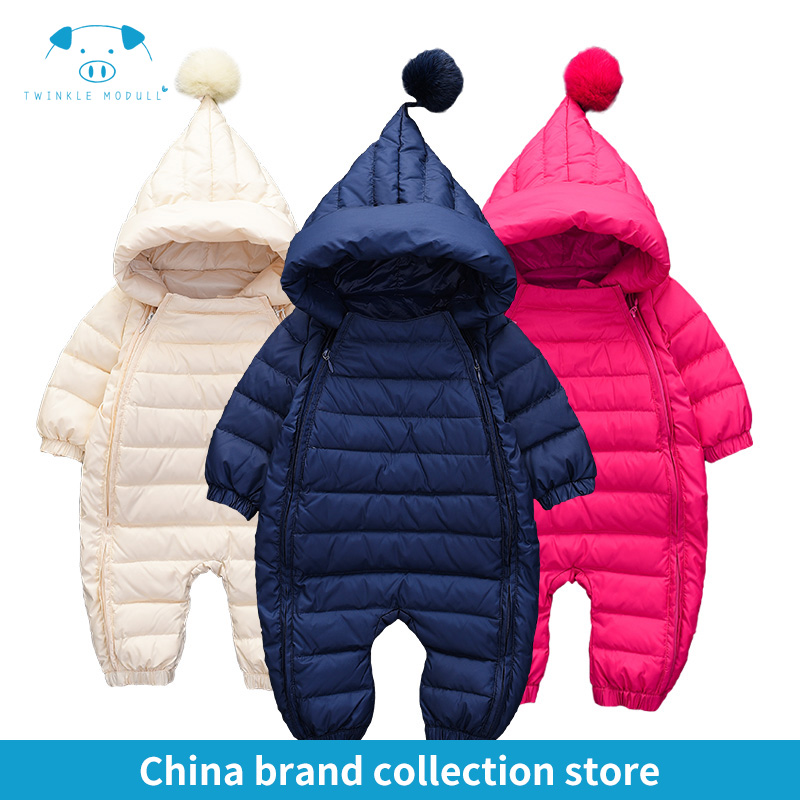 [PlayFul100]romper newborn baby clothes baby winter rompers infant Newborn Baby Girls Boys Clothes Long sleeves Hooded MD150D033 puseky 2017 infant romper baby boys girls jumpsuit newborn bebe clothing hooded toddler baby clothes cute panda romper costumes