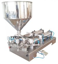300 2500ml double heads Cream Shampoo Cosmetic Automatic Filling Machine GRIND