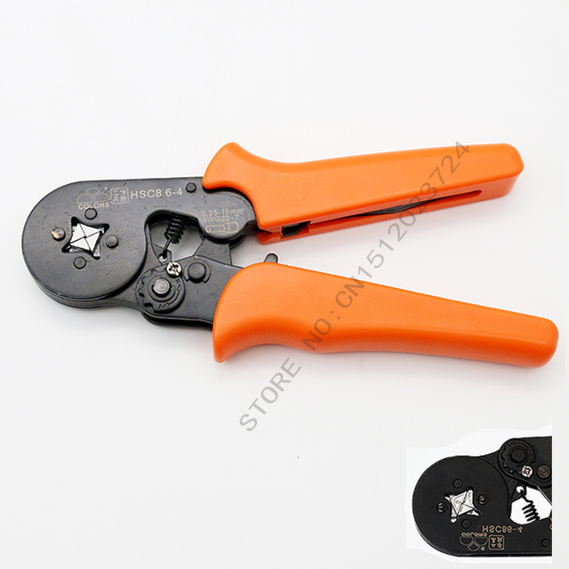 Pressure cl& HSC8 6-4 sleeve pliers European type pipe wrench Automatic adjustmen Apply between & Pressure clamp HSC8 6 4 sleeve pliers European type pipe wrench ...