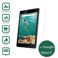 For Google Nexus 9 Tempered Glass Screen Protector 9h Safety Protective Film For HTC Flounder Nexus9