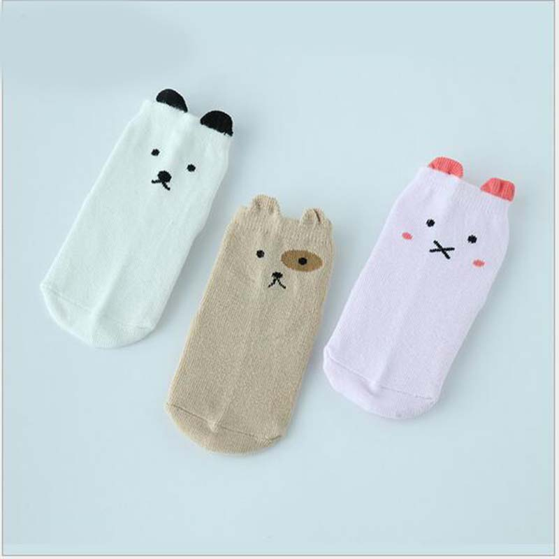 Amazing Cotton Baby Socks Newborn Floor Socks for Baby Girl Boy S M Size Hot Toddler Asy ...