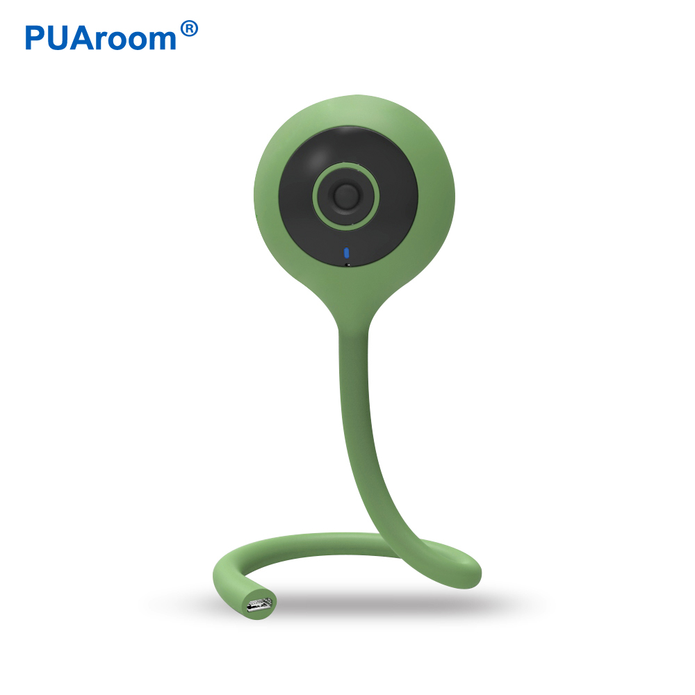 PUAroom 720P Intelligent Motion Detection Baby Care Cameras IR-CUT Switch For Video Record Camera