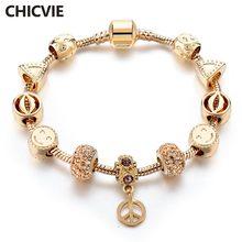 Chicvie Лучший золотой смайлик и рот пользовательские браслеты