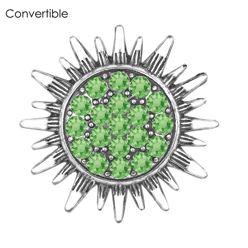 Hot Sale Rivca Magnetic Flower Brooch For Women Pin Crystal Safety Custome Muslim Cloth jewelry Accessories Rhinestone Brooches