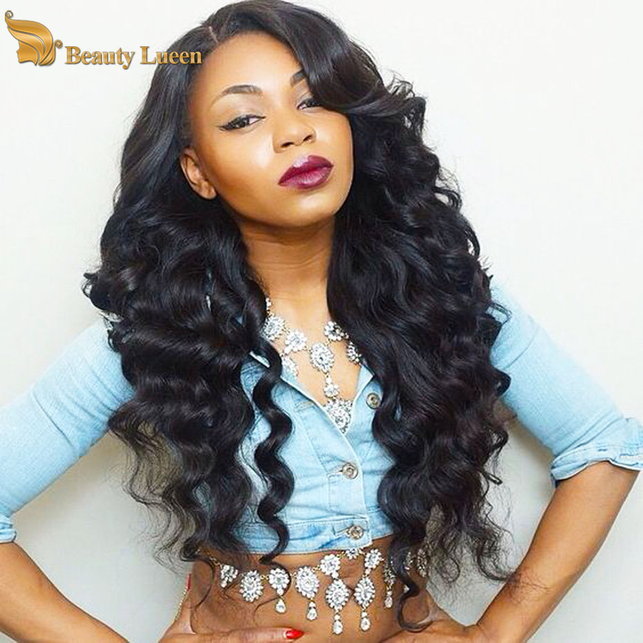 European Virgin Hair Loose Wave 100 Percent Human Hair Extensions