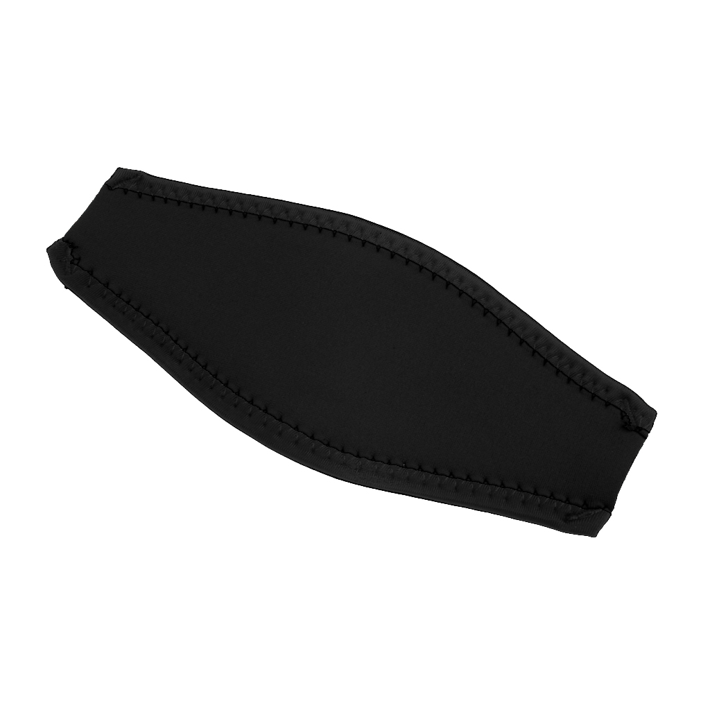 2 pcs Underwater Scuba Diving Snorkel Swim Mask Neoprene Hair Strap Cover Wrap Swimming Diving Masks Strap Cover One size