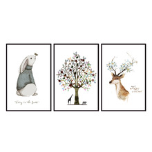 Factory wholesale (No Framed) Animal poster series Canvas Print On Printing Wall Pictures 12YM-A-639