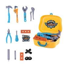 Набор инструментов, Обучающие игрушки, инструменты для моделирования, инструменты для ремонта Toy14Pcs, детский портативный набор инструментов, игрушечный инструмент для демонтажа и ремонта, набор
