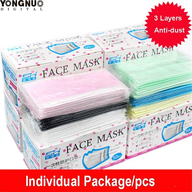 50pcs Individual Package Professional Dust Anti Disposable Medical