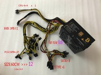 KUANGCHENG ETH ZCASH Gold POWER 1800W Power Supply Can Be Used For R9 380 RX480 6