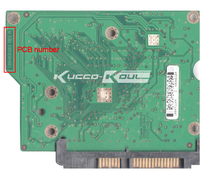 hard drive parts PCB logic board printed circuit board 100468303 for Seagate 3.5 SATA 250GB hard drive repair data recovery