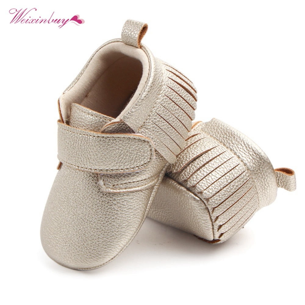 WEIXINBUY 6 Colors Brand Spring Baby Shoes