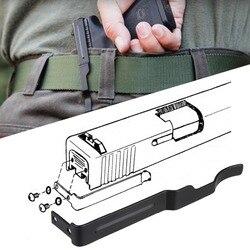 Faja para Arma Oculta Clip de cinturón para Glock deslizante funda para Glock 17 19 22 23 24 25 26 27 28 30 31 32 33 34 35 36 llevar pistola Clip diapositivas