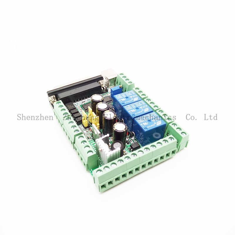 4 Axis CNC MACH3 Breakout Board Adapter Interface for Stepper Motor Driver denon ah mm200 white