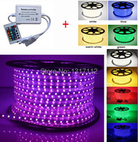 Good Quality Copper Wire 60LEDs/M Waterproof IP67 SMD 5050 LED Strip 110V with Controller