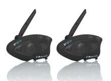מידלנד BTX2 FM אופנוע קסדת אינטרקום Bluetooth קסדת אופנוע אוזניות 800M BT האינטרפון Intercomunicador Moto