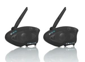 Image 1 - MIDLAND BTX2 FM Motorcycle Helmet Intercom Bluetooth Helmet Headset Motorbike 800M BT Interphone Intercomunicador Moto