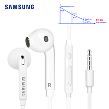 Original Samsung EG920 Wired Earphone with 3.5mm In-Ear Plug Speaker Microphone Headset Support Andr